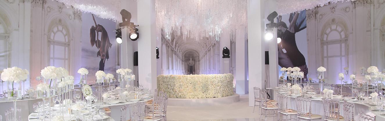 банкетный зал на свадьбе
