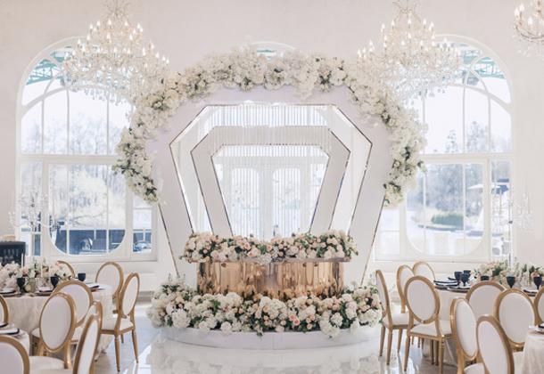 Свадьба Антона и Натальи банкетный зал