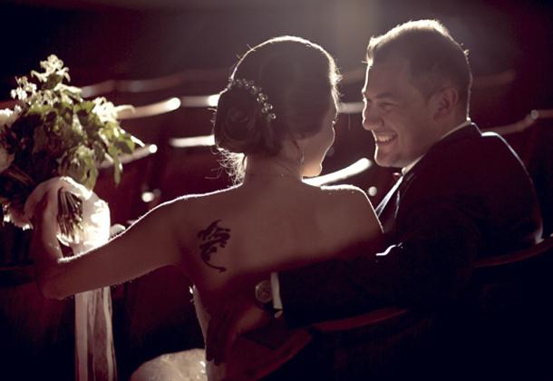 Свадьба Бориса и Алисы нежность